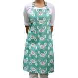 Crab Design Apron: Sea Green