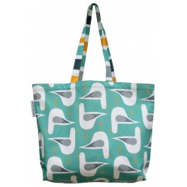 Seagull Tote Bag: Sea Green