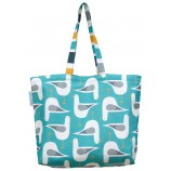 Seagull Tote Bag: Turquoise